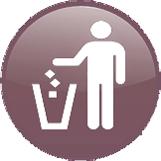 Ikona segregacja śmieci